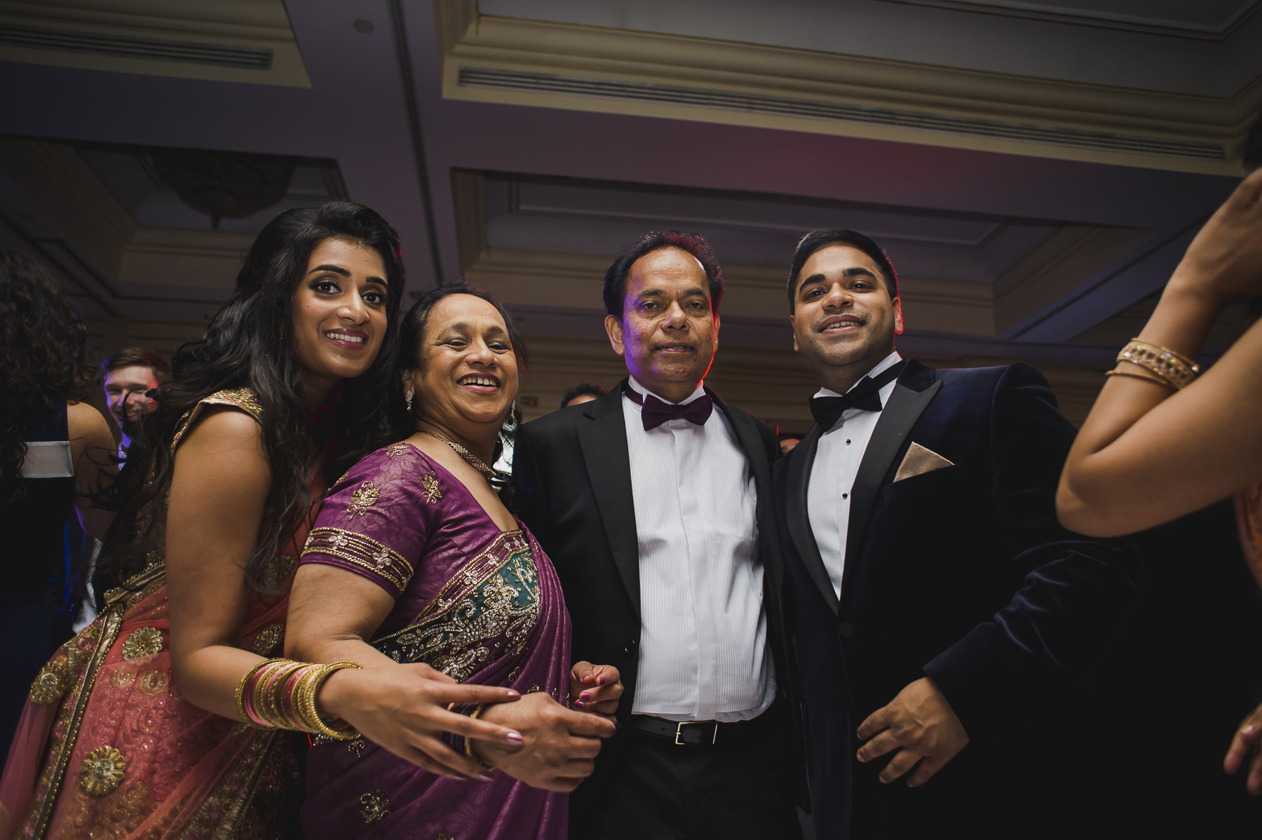 Mayfair Wedding Photography Family photo