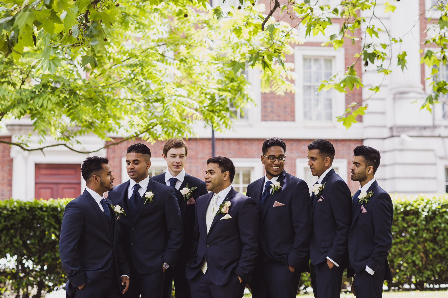 Mayfair Wedding Photographer Groomsmen