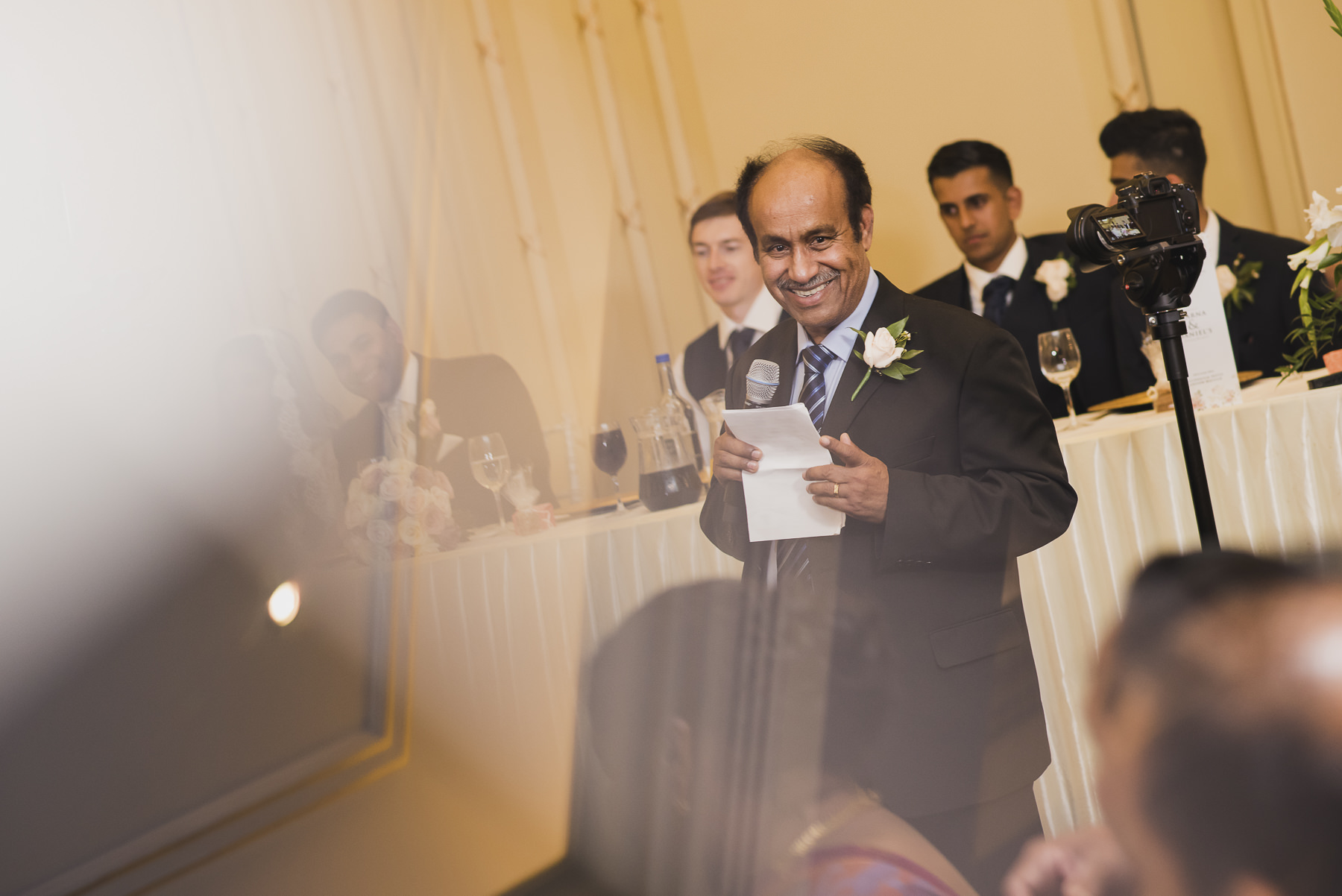 Mayfair Wedding Photography Speech