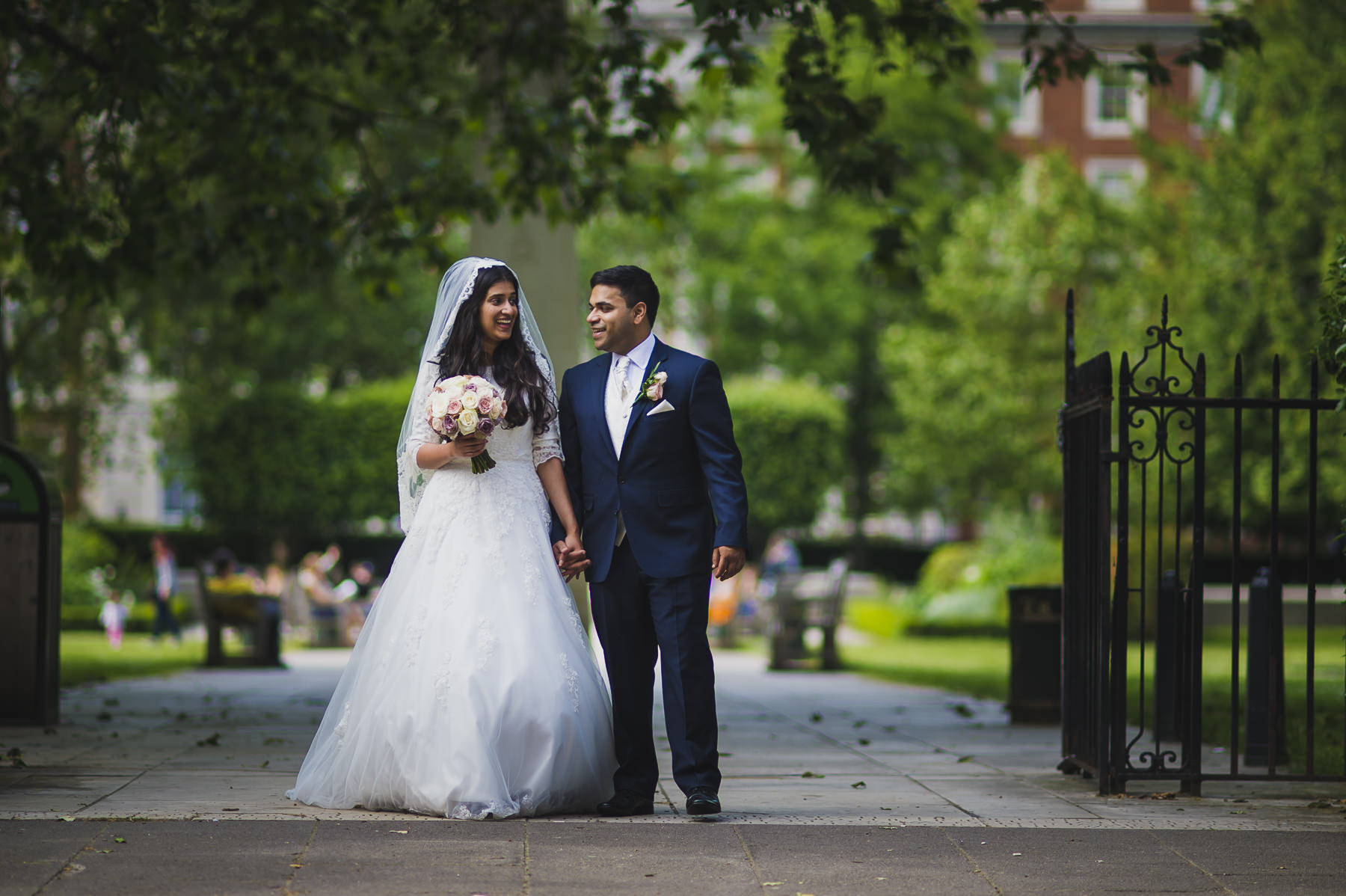 Grosvenor Square Mayfair Wedding Photography