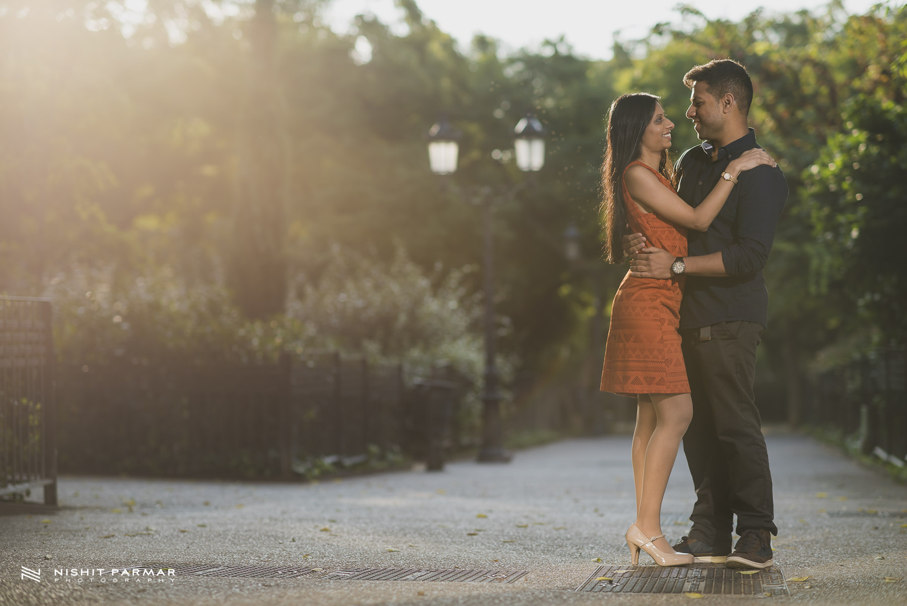 Barcelona Prewedding Shoot Asian Wedding Photography Morning Light
