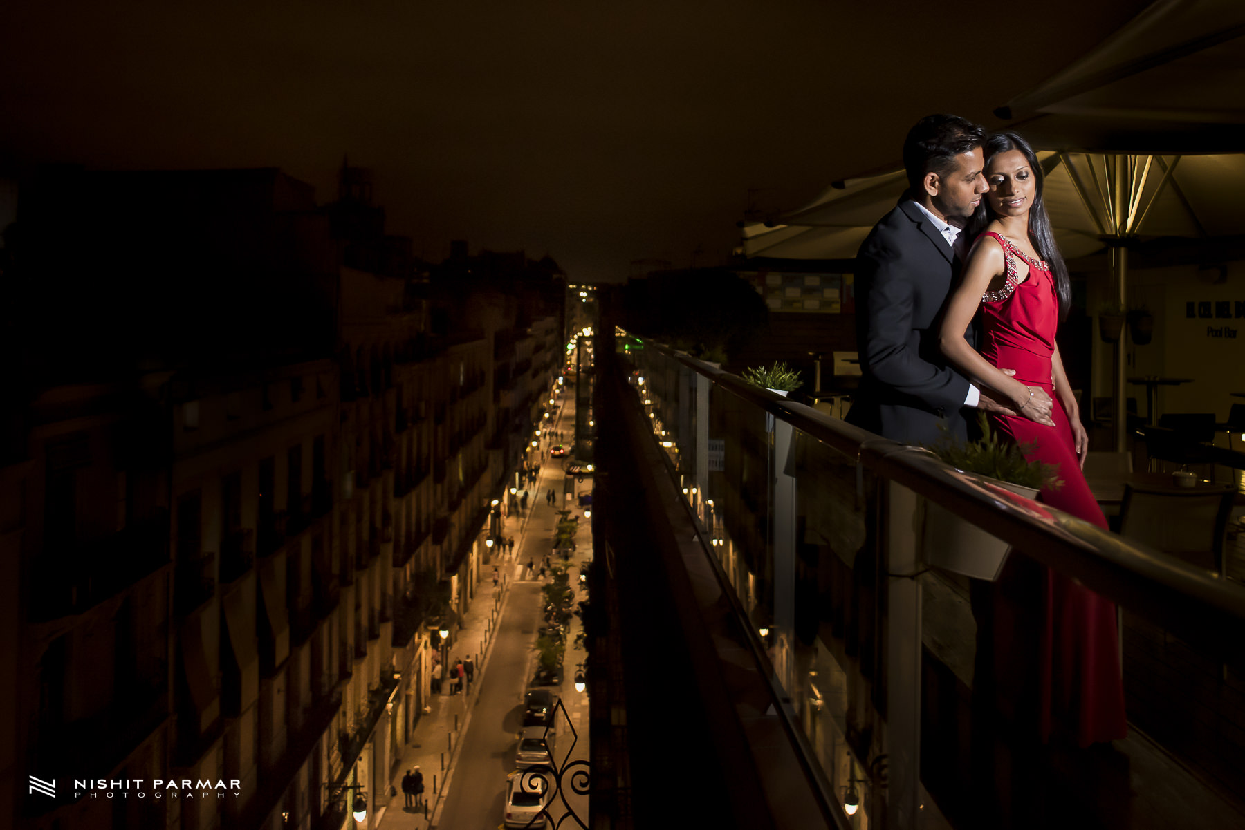 Barcelona Prewedding Shoot Hotel Rooftop Asian Wedding Photography