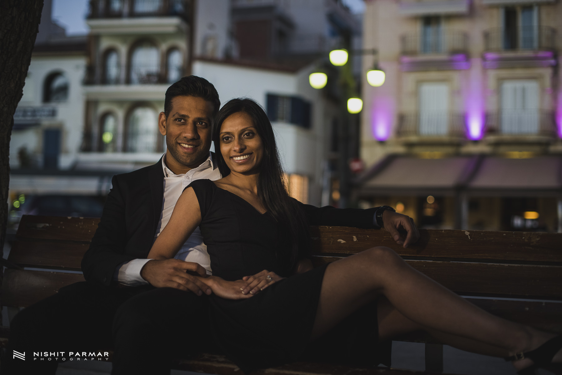 Barcelona Prewedding Shoot Asian Wedding Photography In Stiges Inspiration