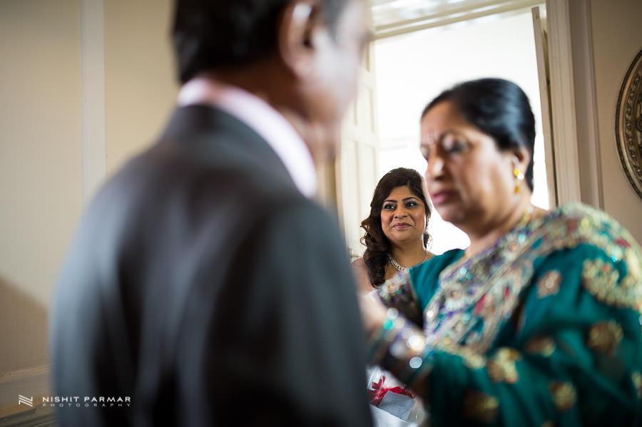 English Wedding at Bayliss House