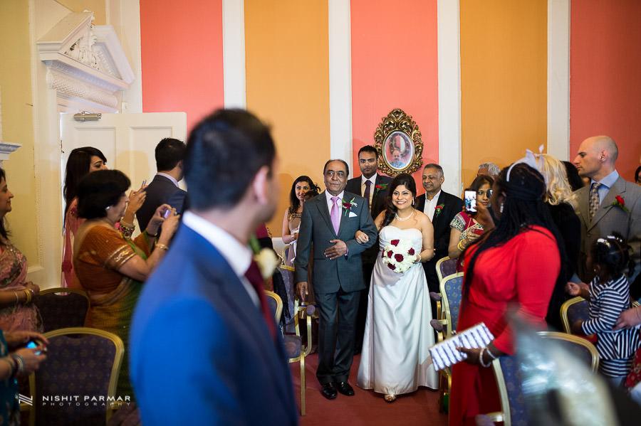 Baylis House Wedding by Indian Wedding Photographer