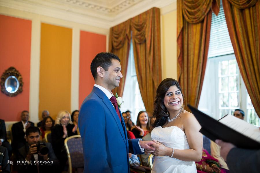 Baylis House Wedding Photography by Hindu Wedding Photographer