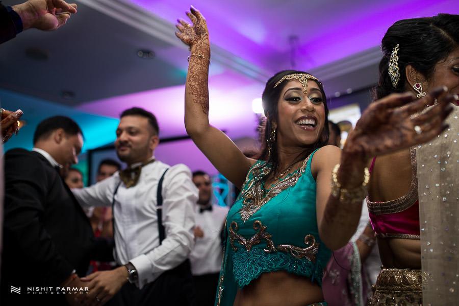 Cavendish Asian Wedding Photography Reception London