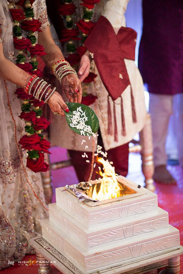 Wedding Photography at Baylis House Hindu Wedding Nishita and Upesh