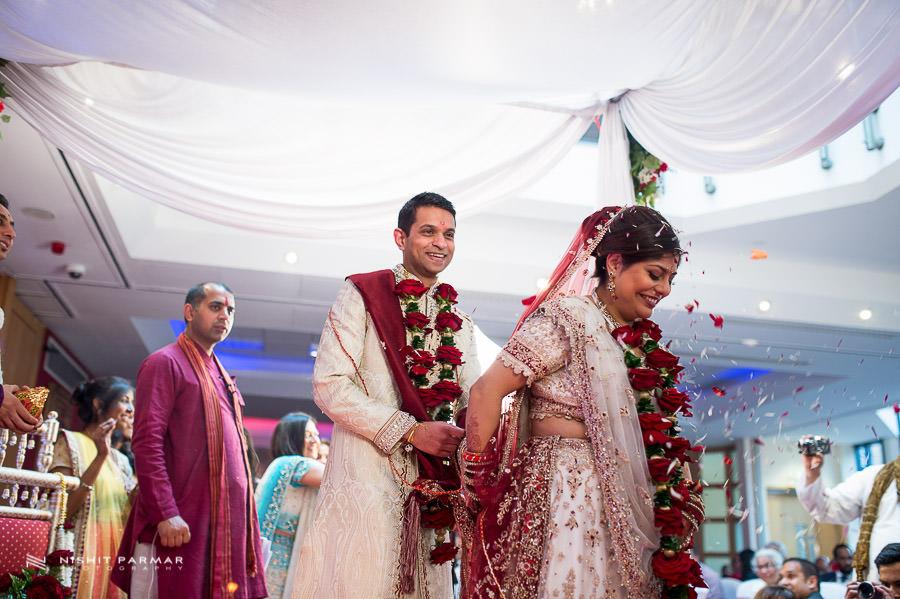 Indian Wedding Photography at Baylis House Hindu Wedding Nishita and Upesh