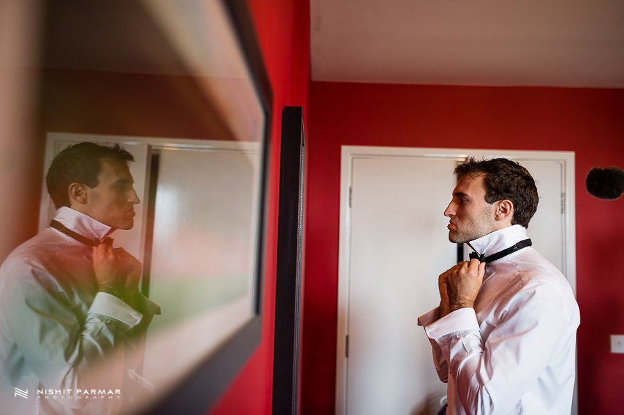 Groom Reflection