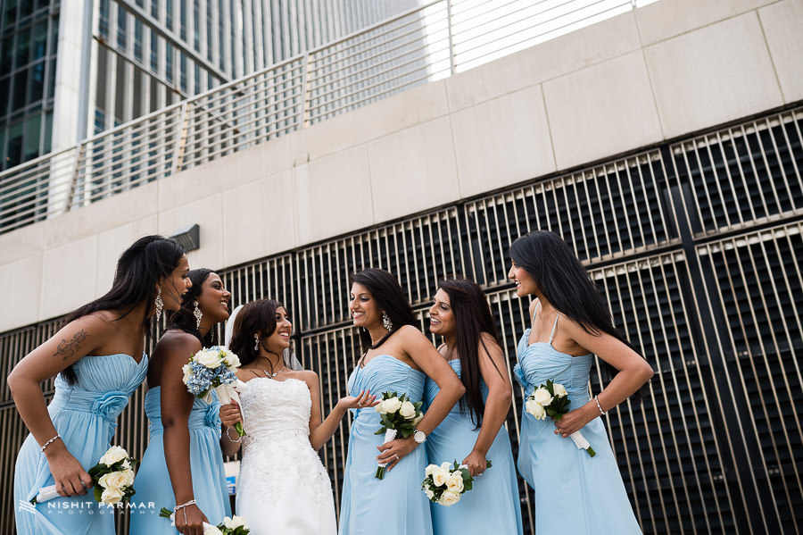 East Windergardens Wedding Photography - Bridesmaids and Bride Portrait