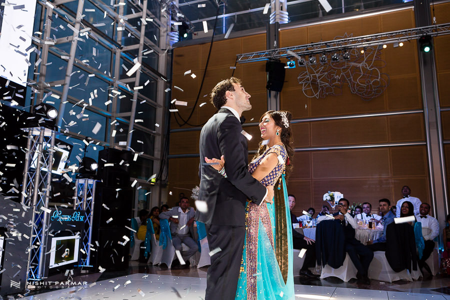 First Dance - East Wintergardens Asian Wedding photographer