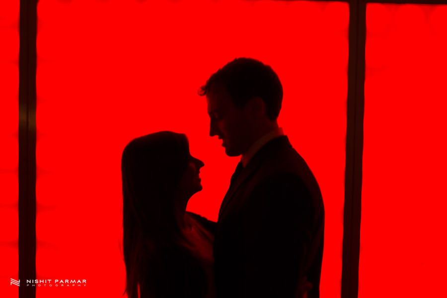 Silhouette Prewedding Shot