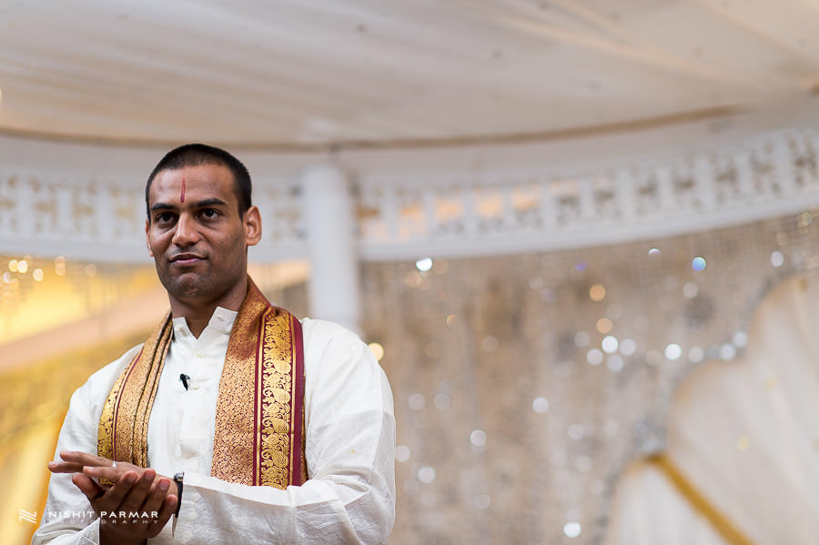 Hindu Wedding Priest