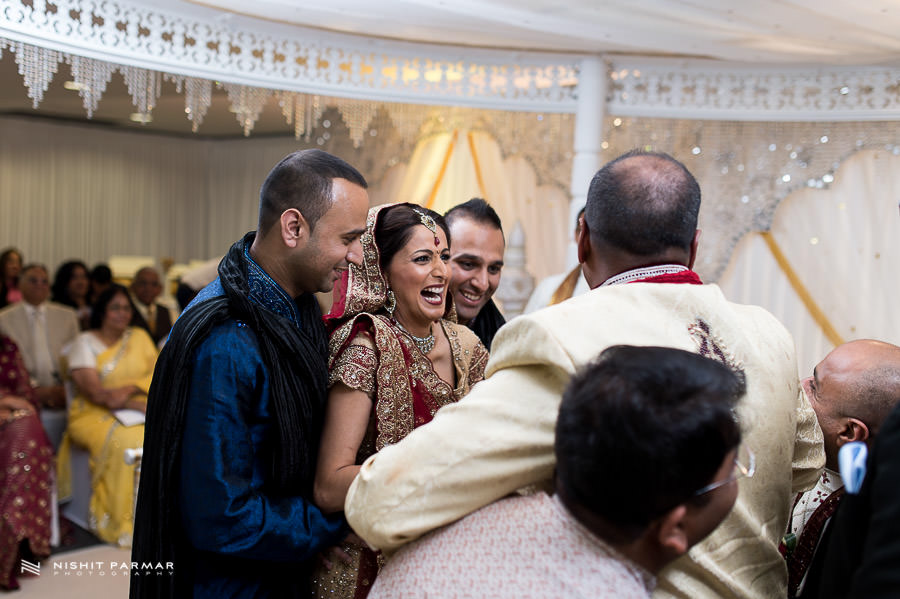 Laughter at Indian Wedding