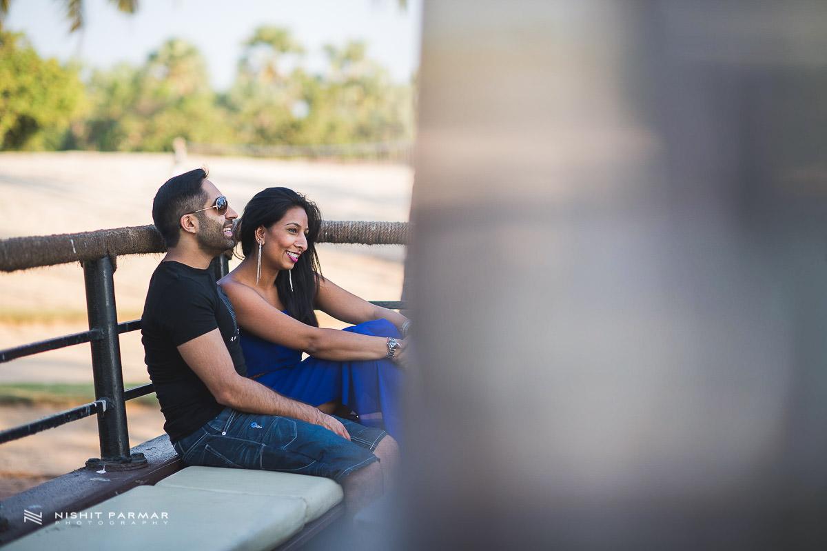 Beach Prewedding Shoot in Goa India Asian Wedding Photography