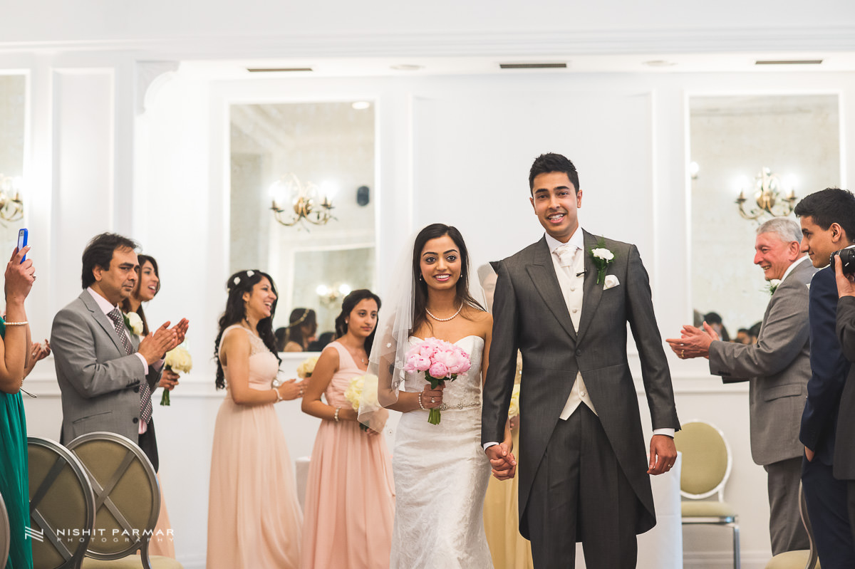 Indian Wedding Photography - Birmingham Botanical Gardens Civil Wedding Photography
