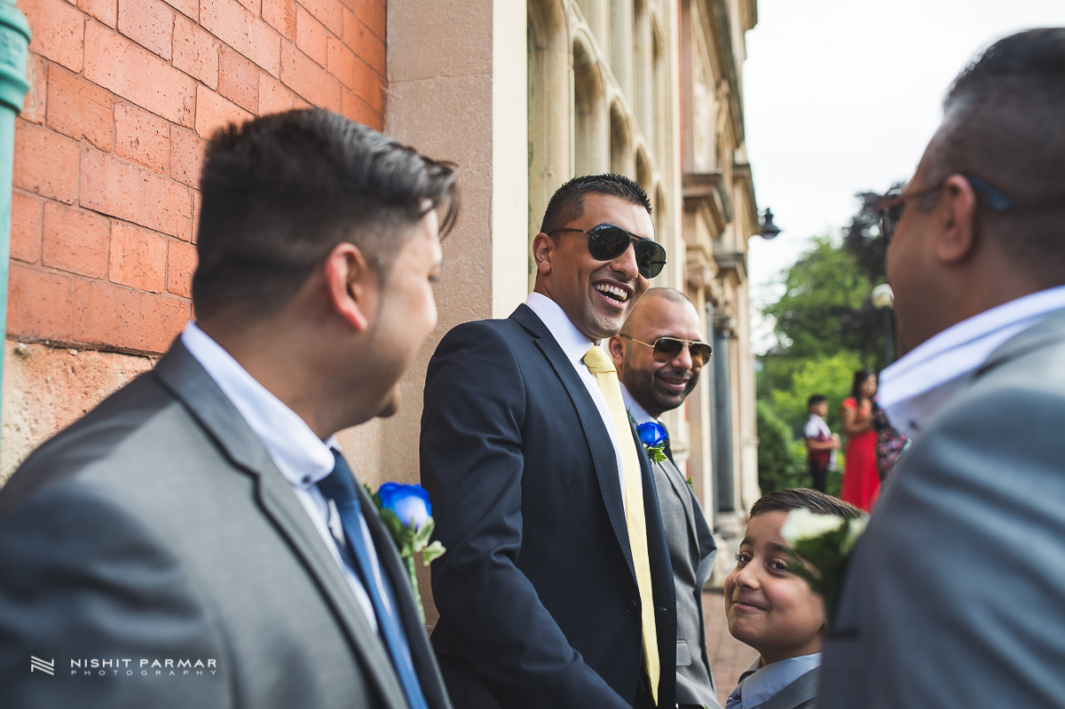Cammy and Amar Civil Wedding and Reception in Essex Asian Wedding Photographer-10