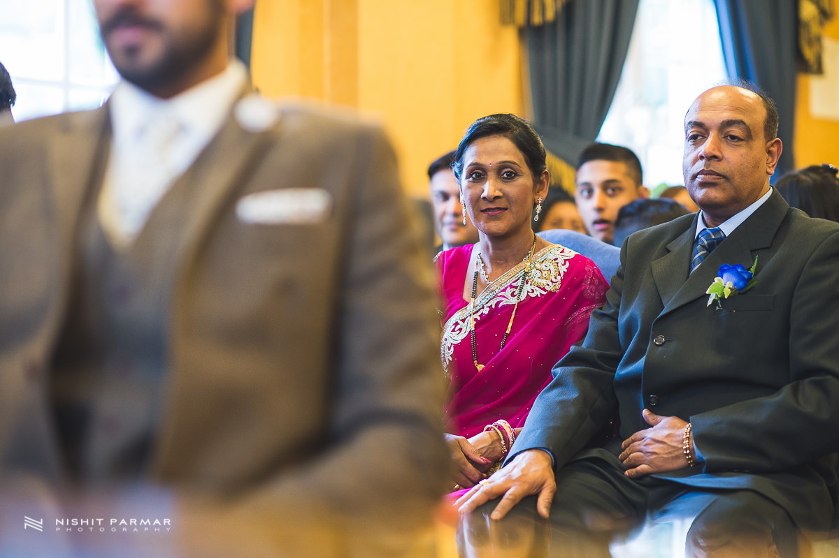 Cammy and Amar Civil Wedding and Reception in Essex Asian Wedding Photographer-14