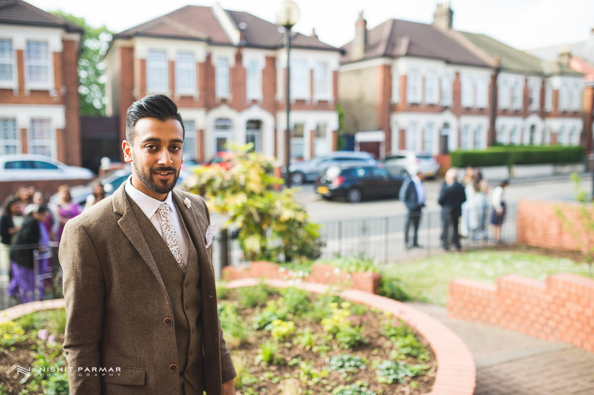 Cammy and Amar Civil Wedding and Reception in Essex Asian Wedding Photographer-7