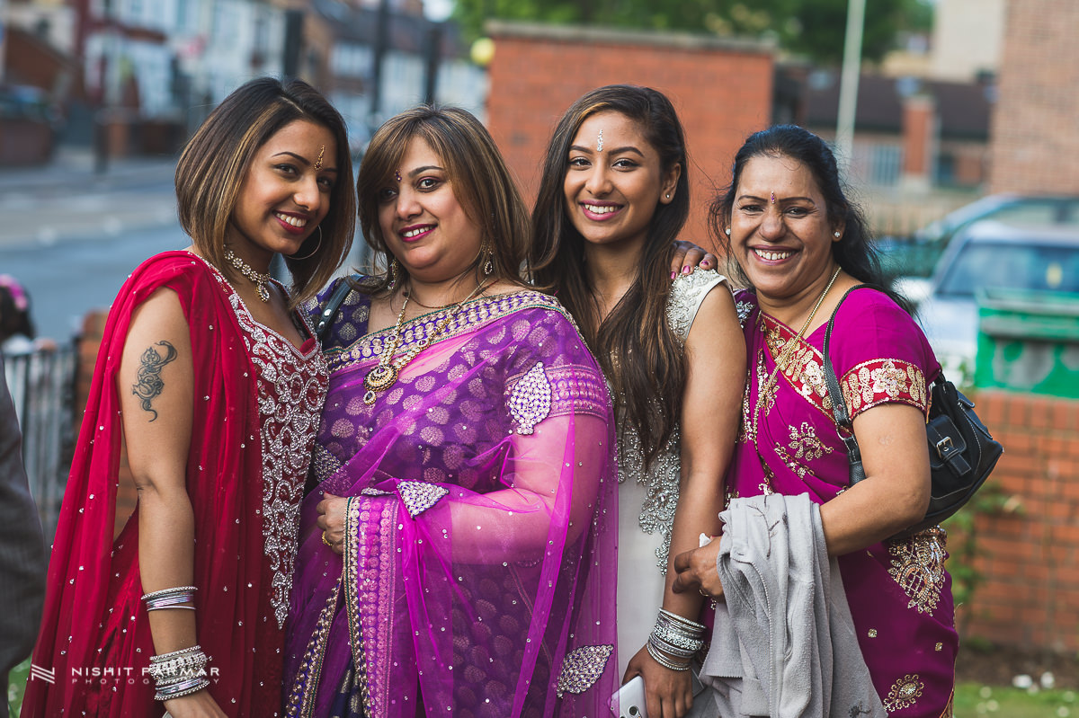 Cammy and Amar Civil Wedding and Reception in Essex Asian Wedding Photographer-8