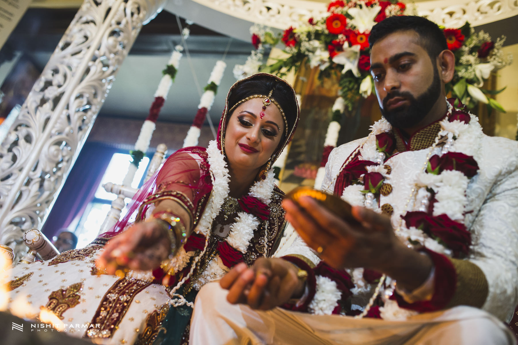 Bride and Groom Havan (Holy Fire)