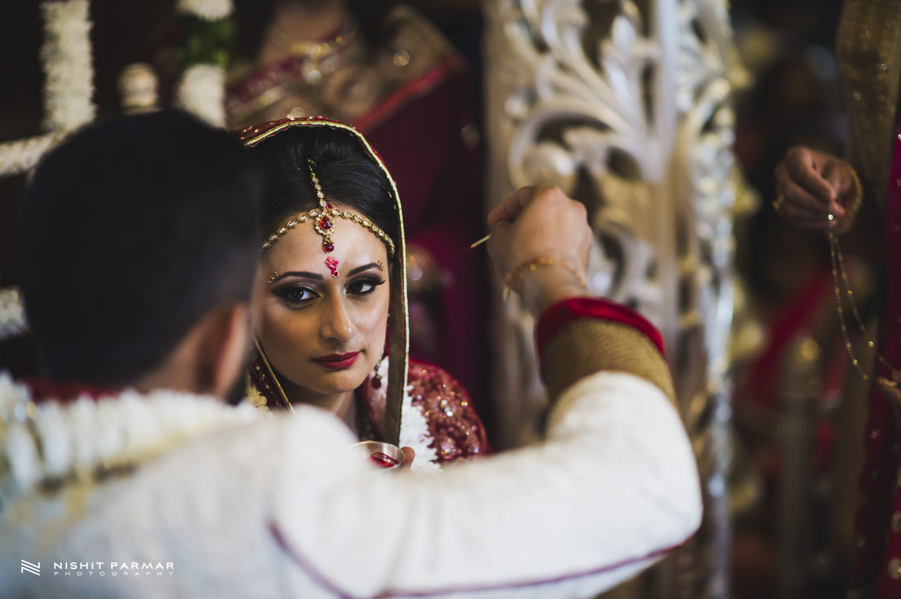 Hare Krishna Wedding - Bhaktivedanta Manor Temple - Indian Weddding - Asian Wedding - Hindu Wedding - Watford-25