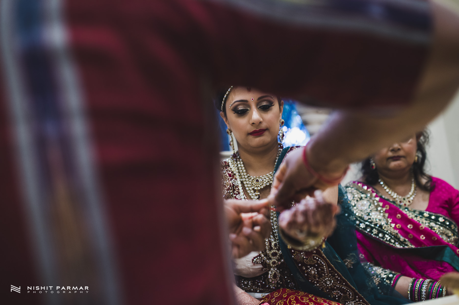 Hindu Wedding Blessing Ceremony