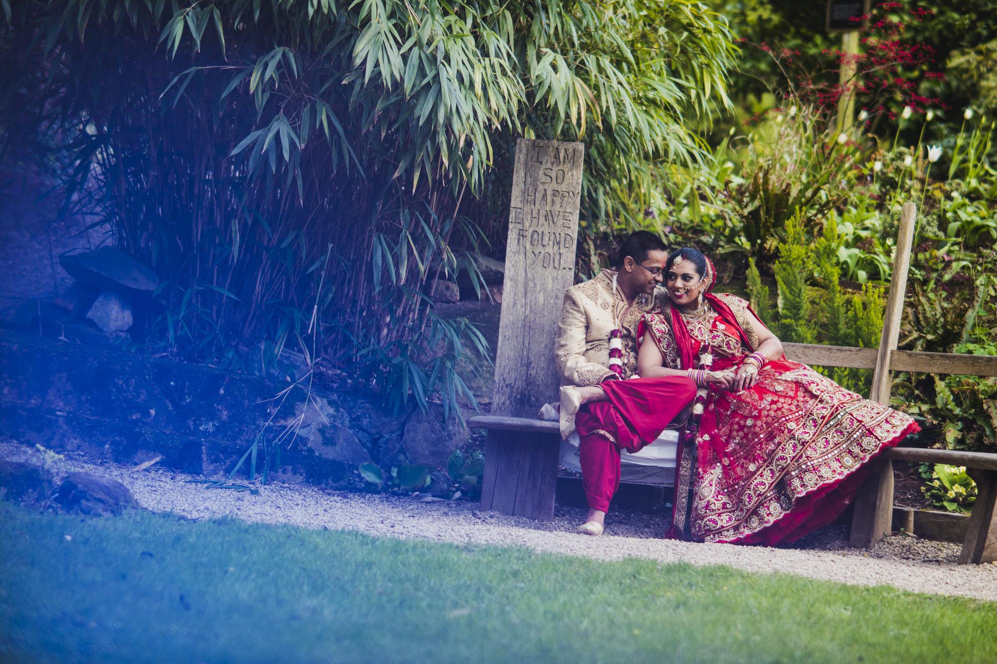 Hare Krishna Bridal Portrait