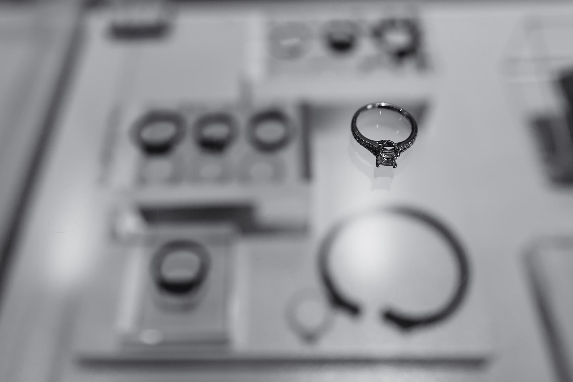wedding ring detail shot at stapleford park