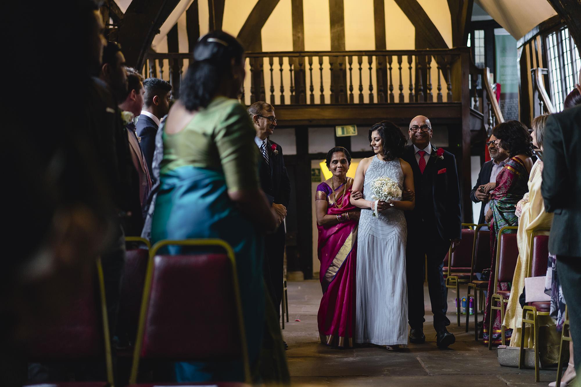 bride entrance for civil wedding