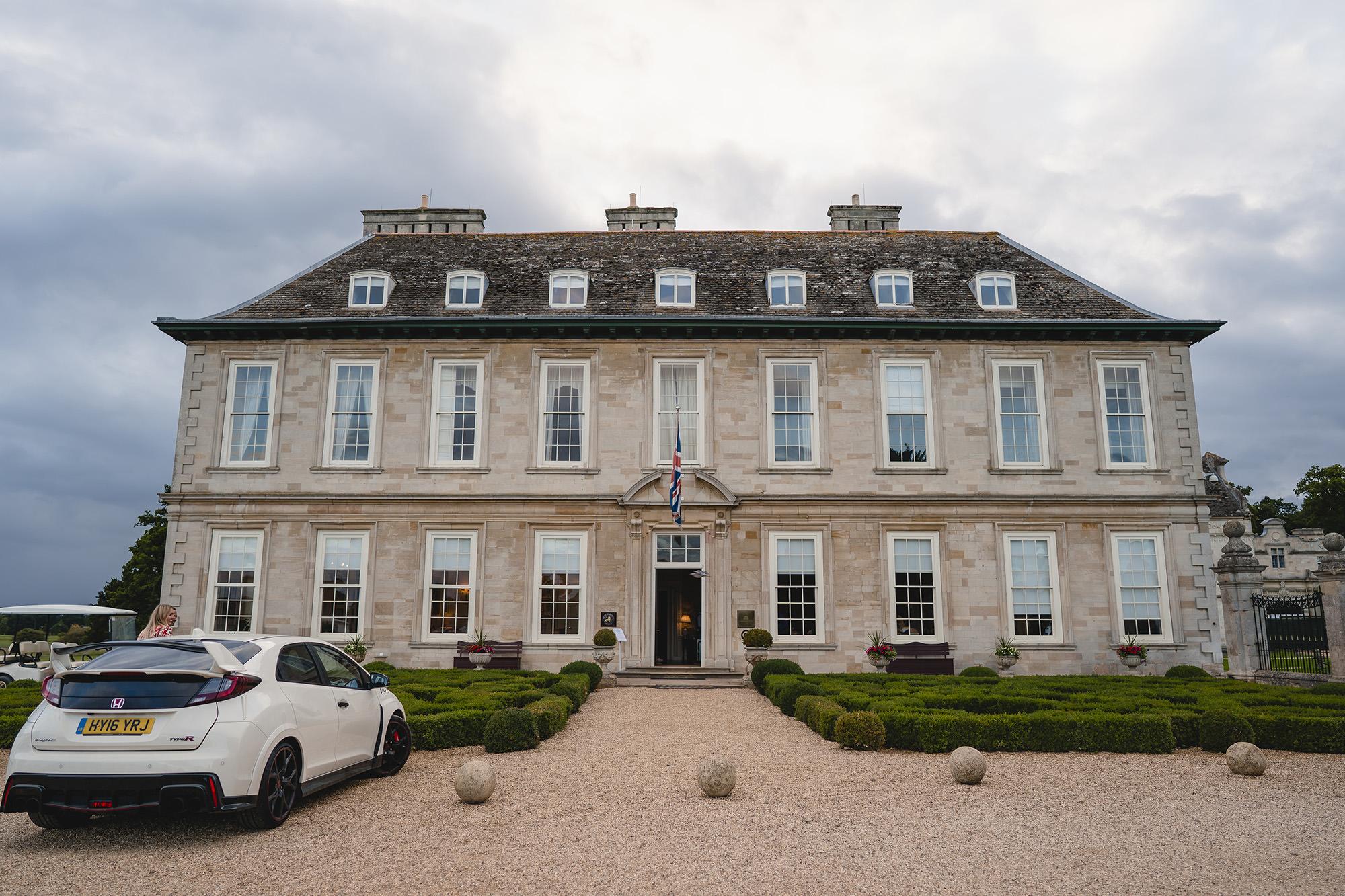 main house of stapleford park