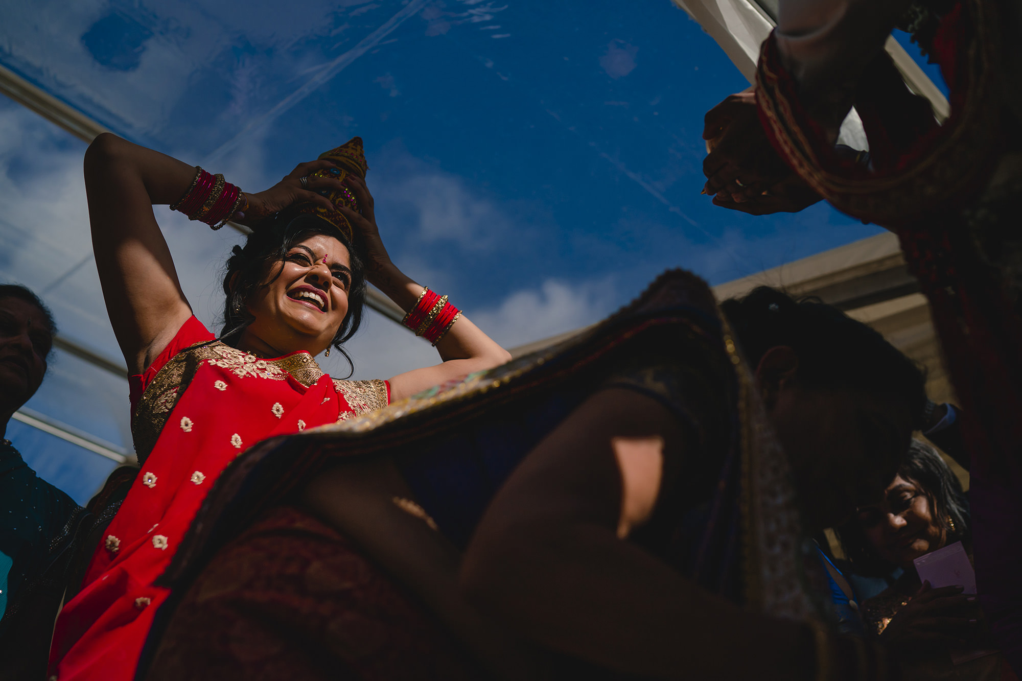 groom entrance ceremony at hindu wedding