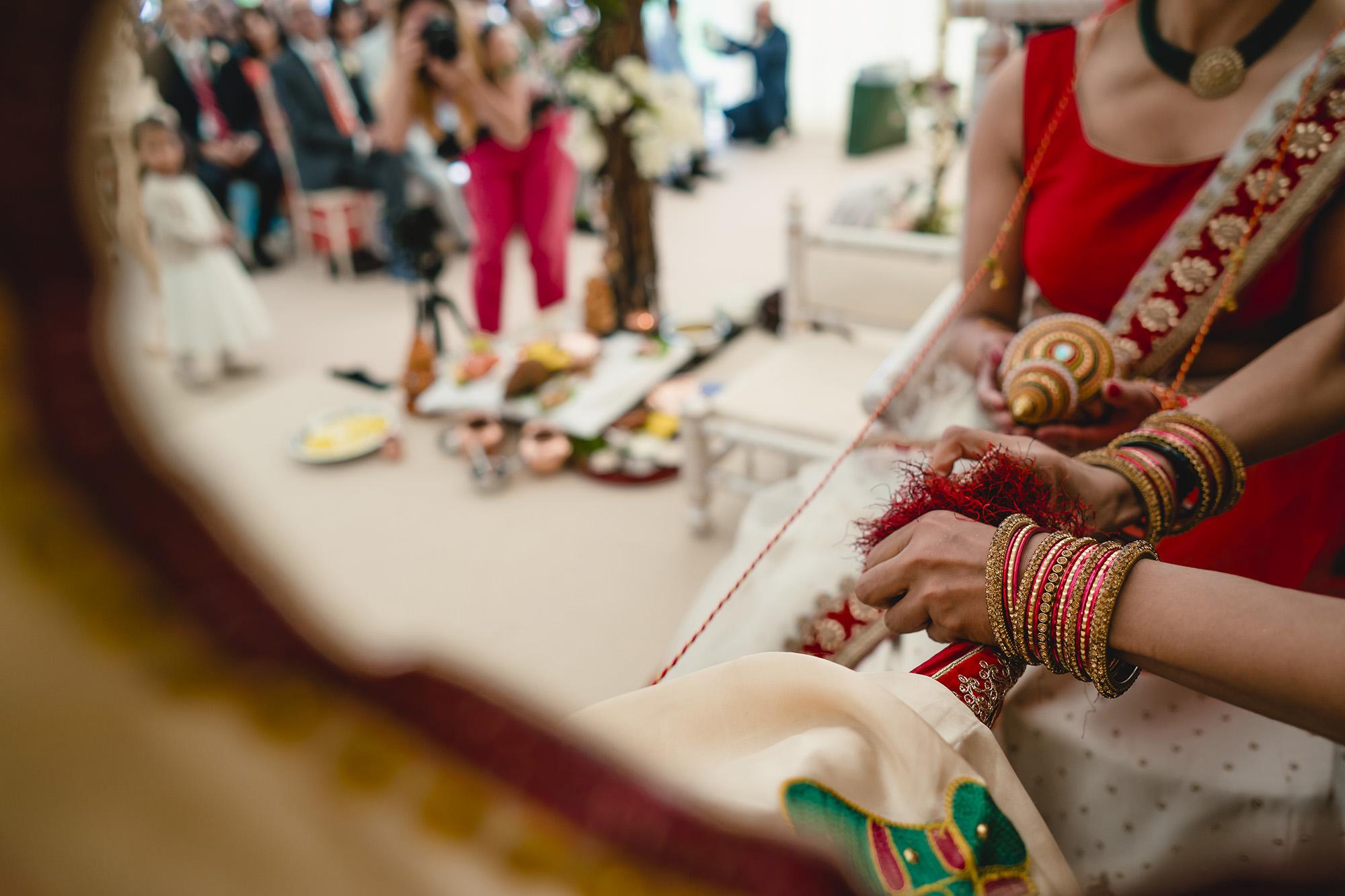 hindu wedding ceremony rituals stapleford park