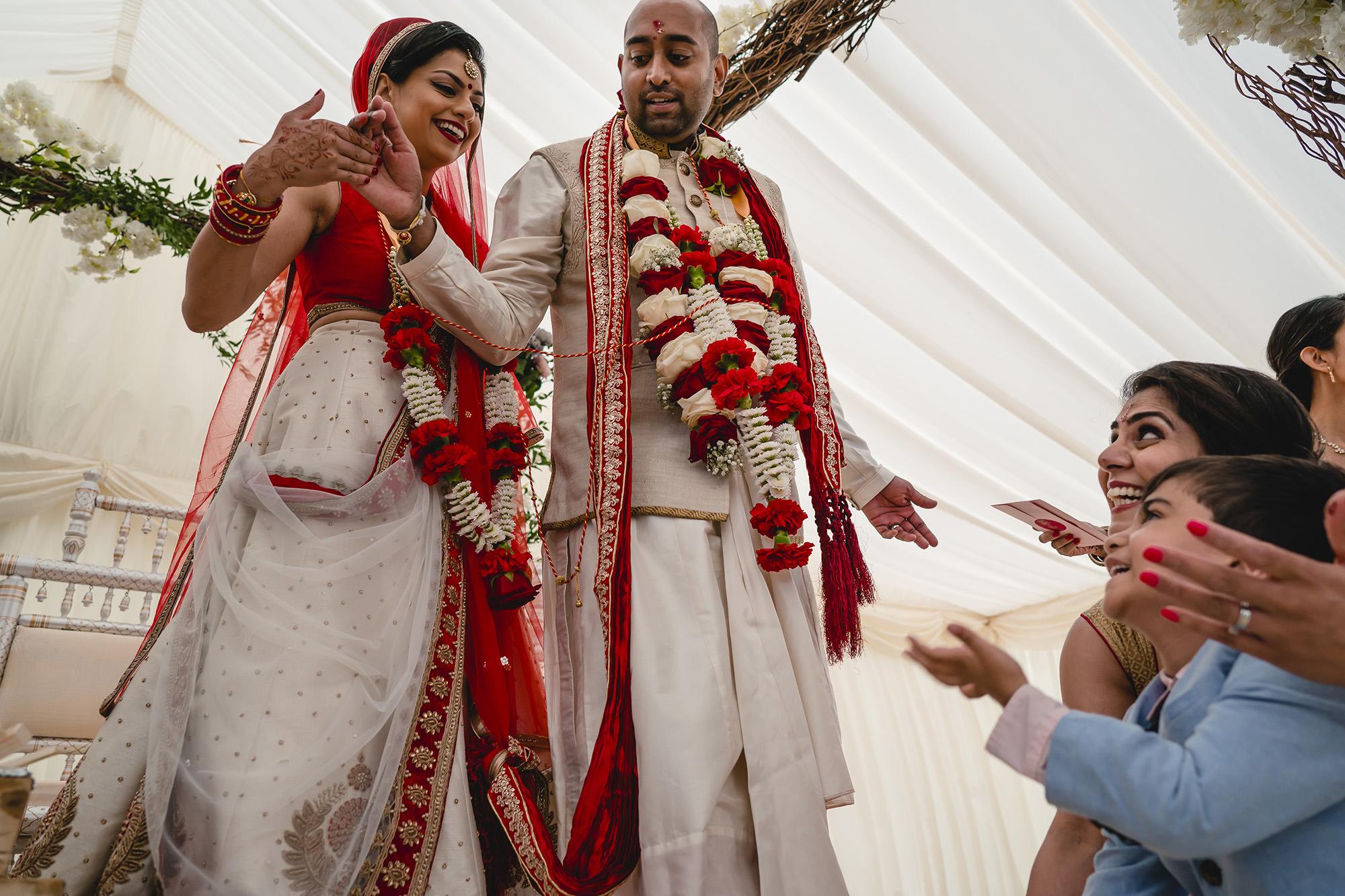 hindu wedding ceremony at stapleford park