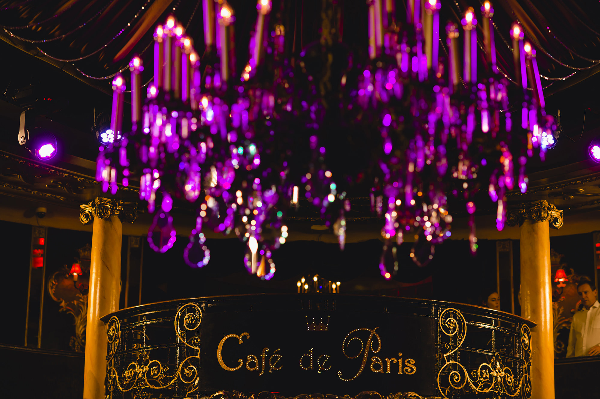 ceremony at cafe de paris london