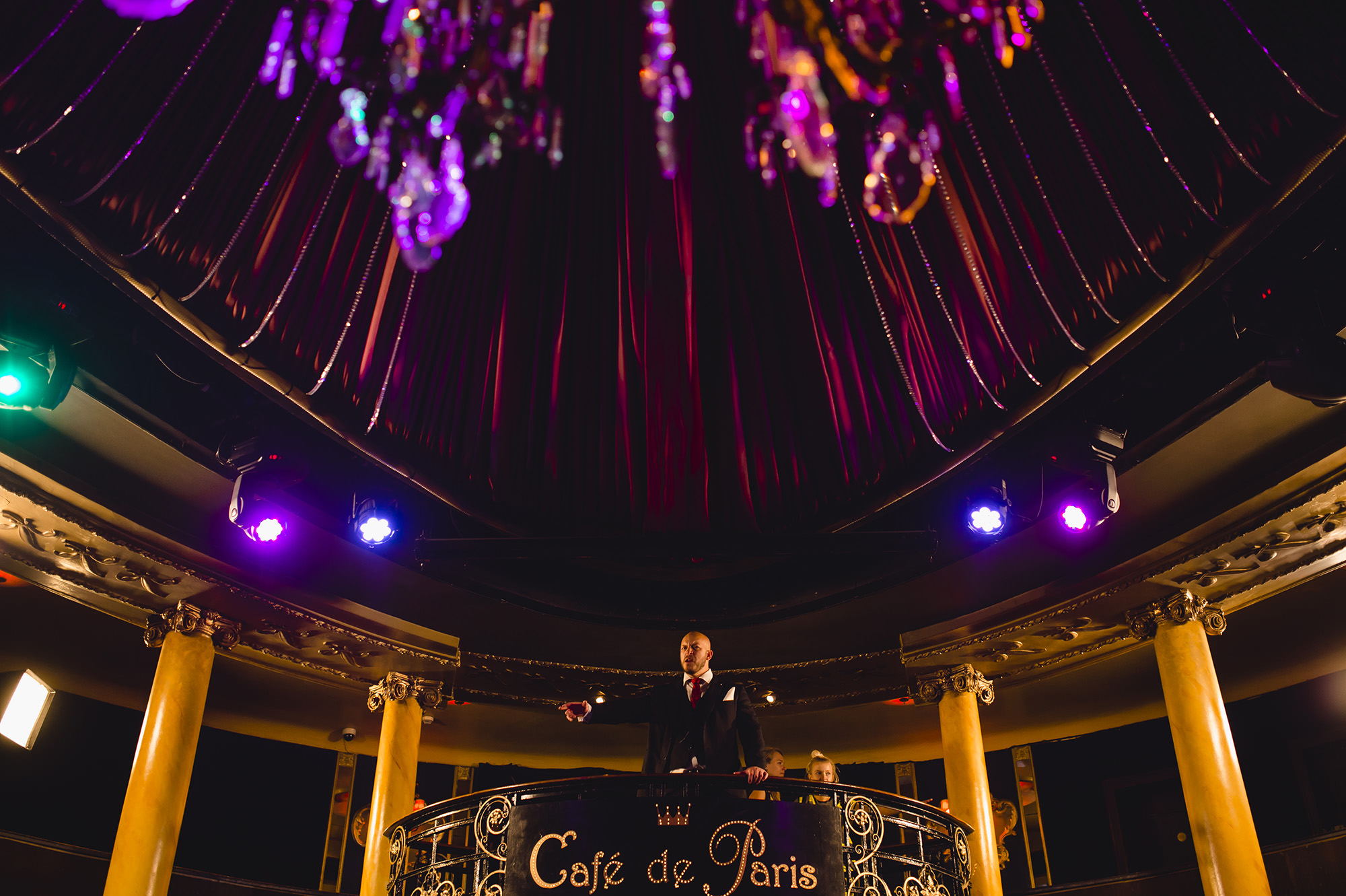 london wedding at cafe de paris