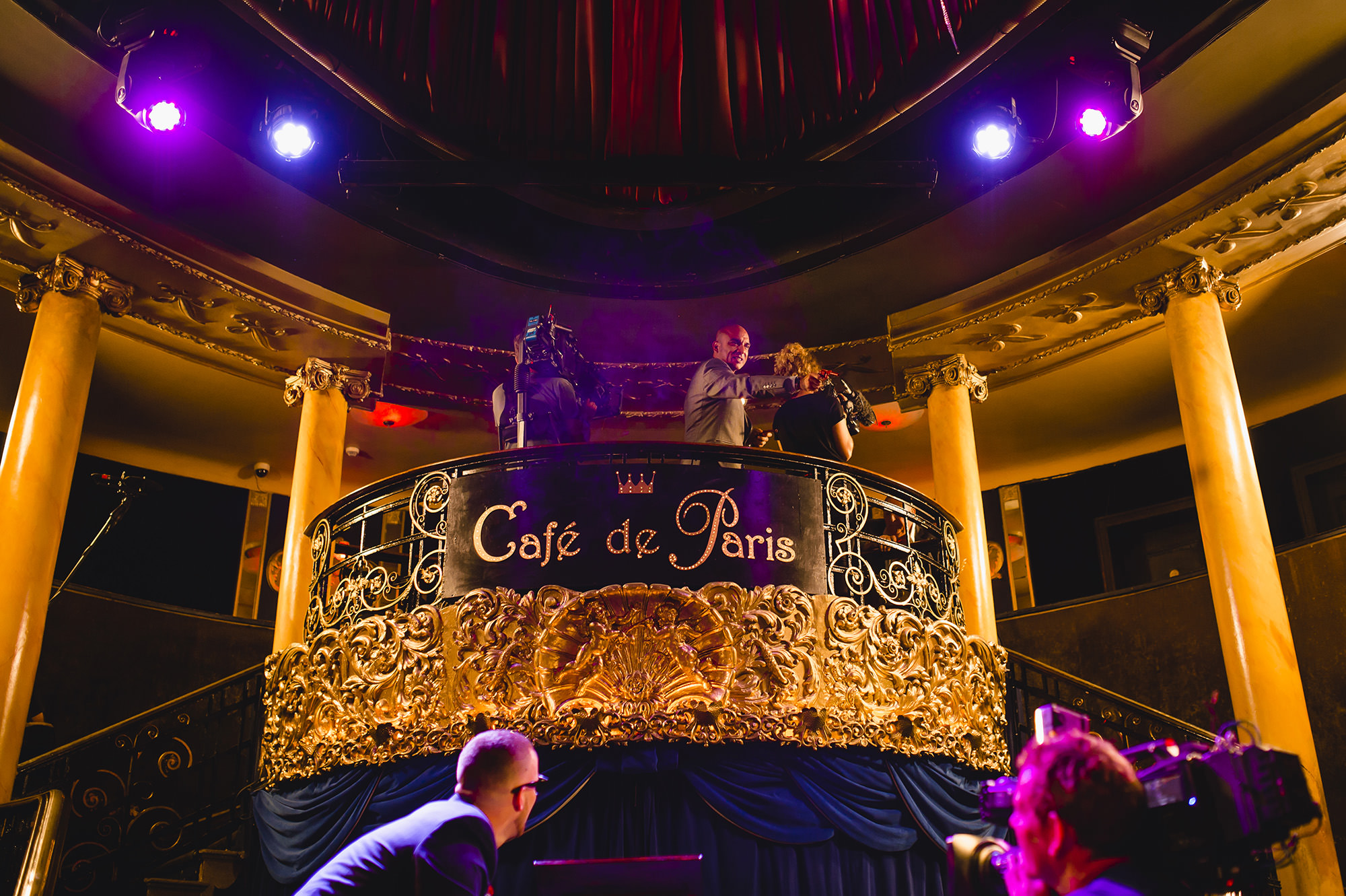 wedding at cafe de paris