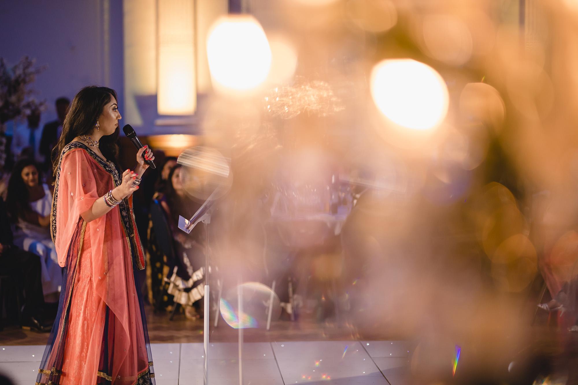 wedding speech by brides friend at RHH