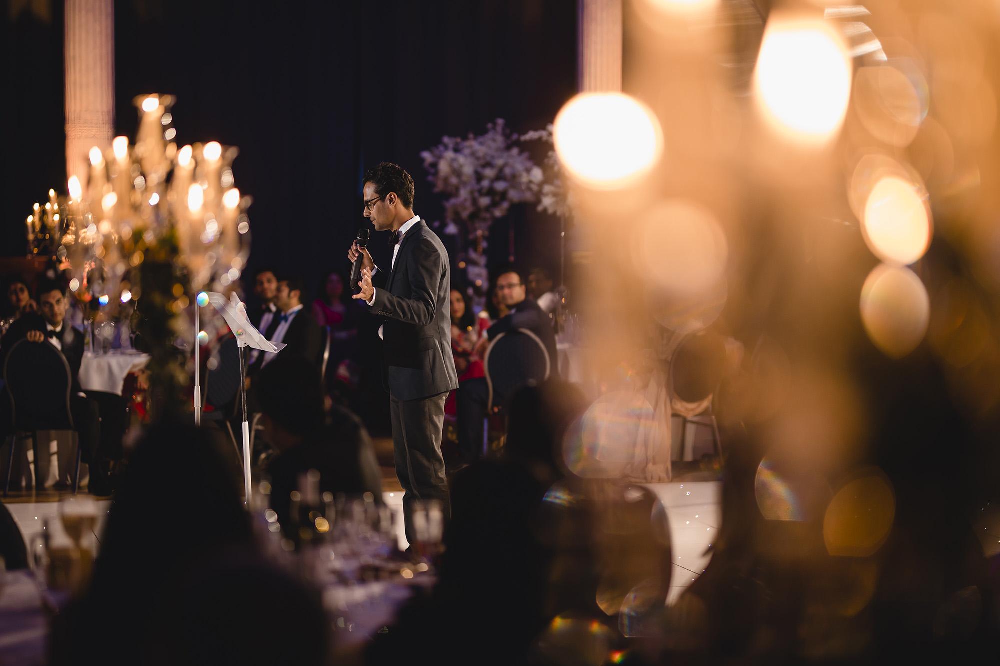 best mans speech at wedding reception