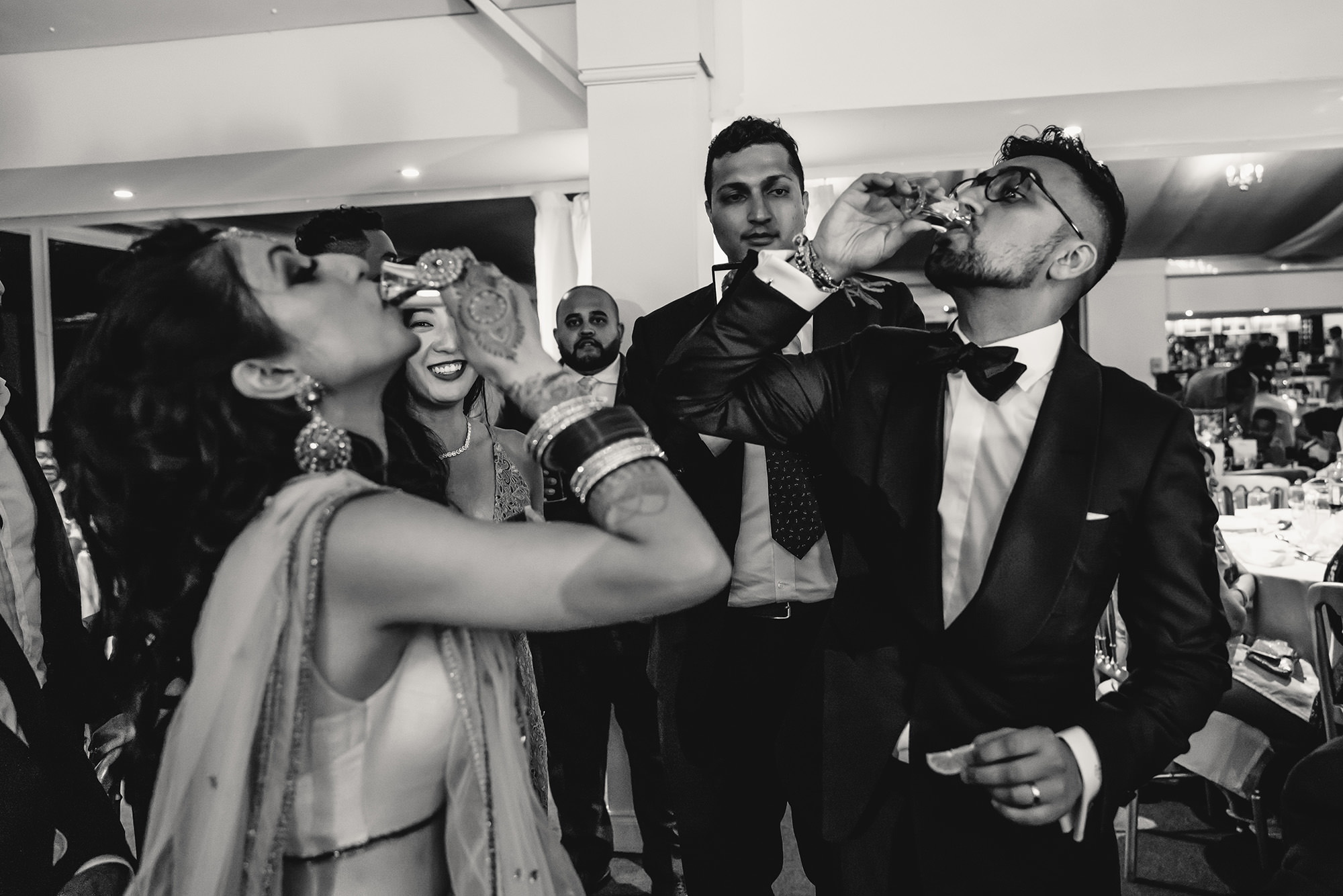 bride and groom shots