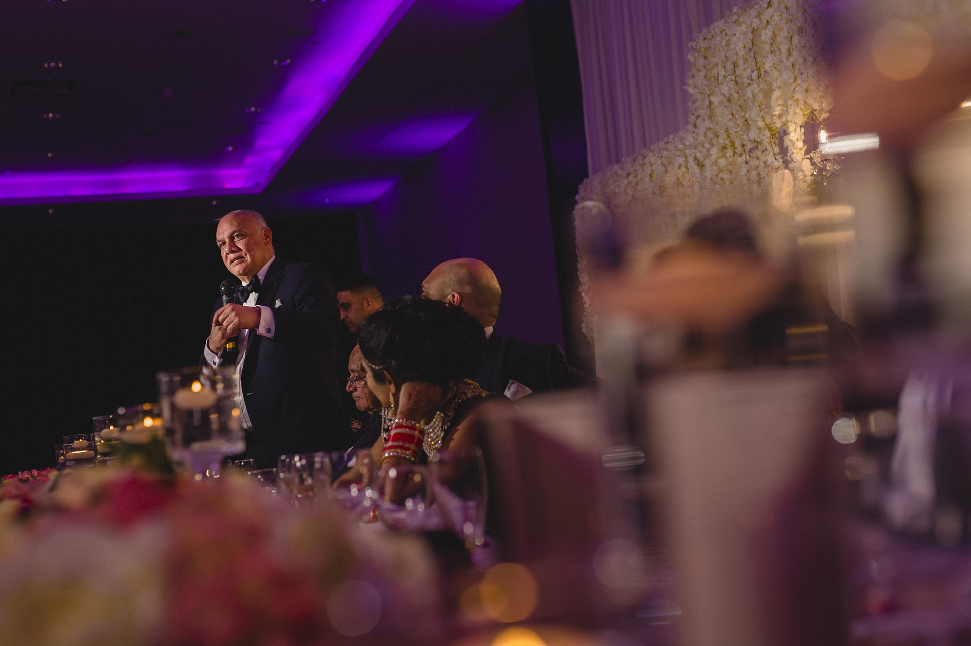 fathers speech at the indian wedding reception at syon park
