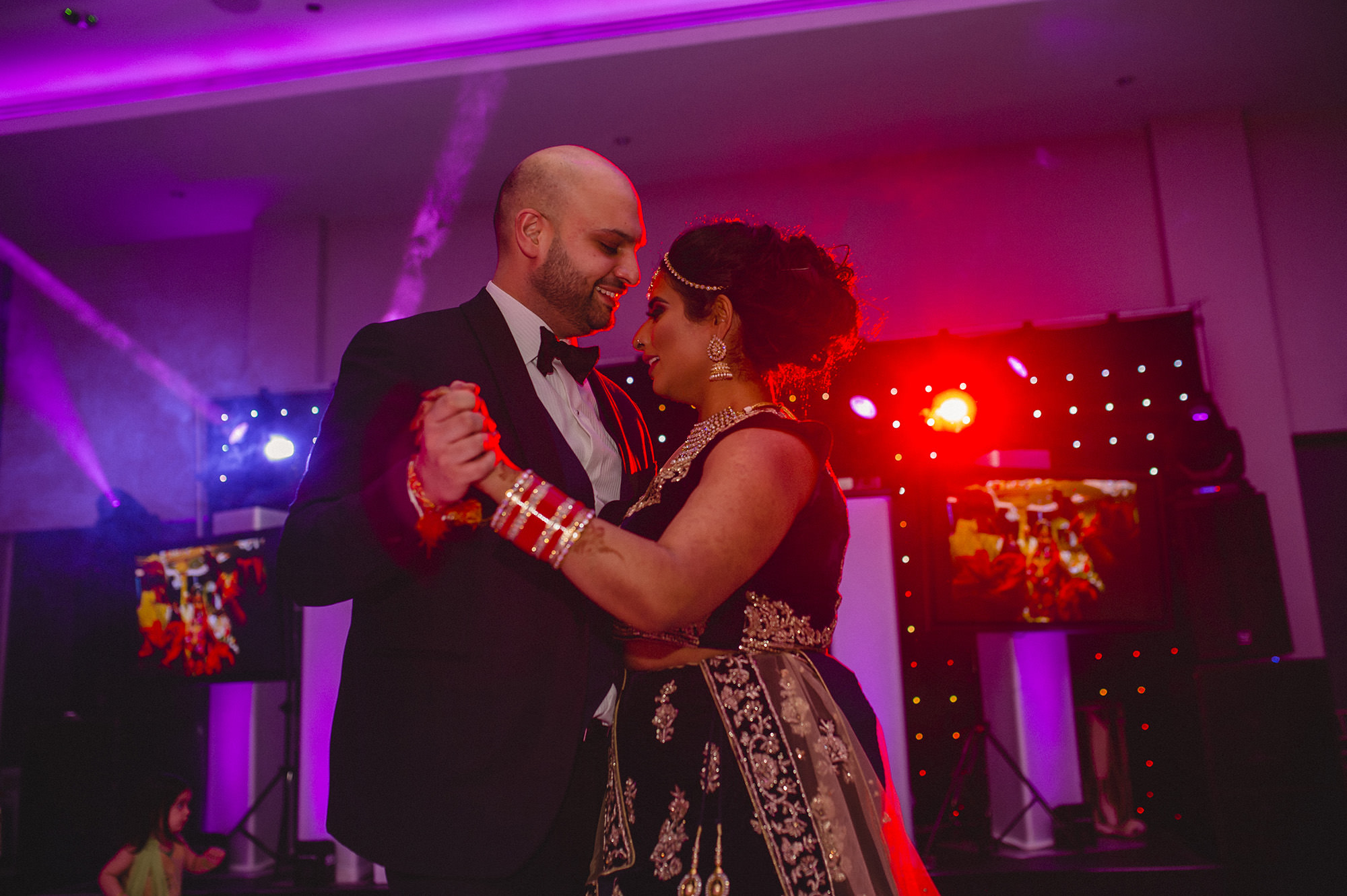 bride and groom first dance at syon park