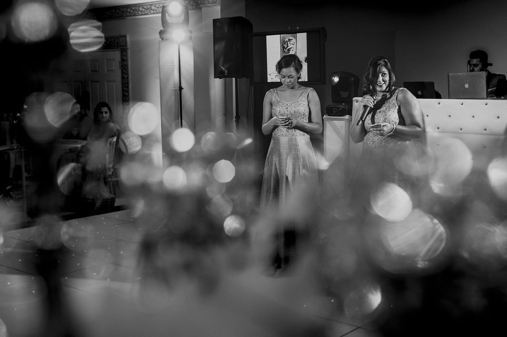 bridesmaids speeches at Froyle Park