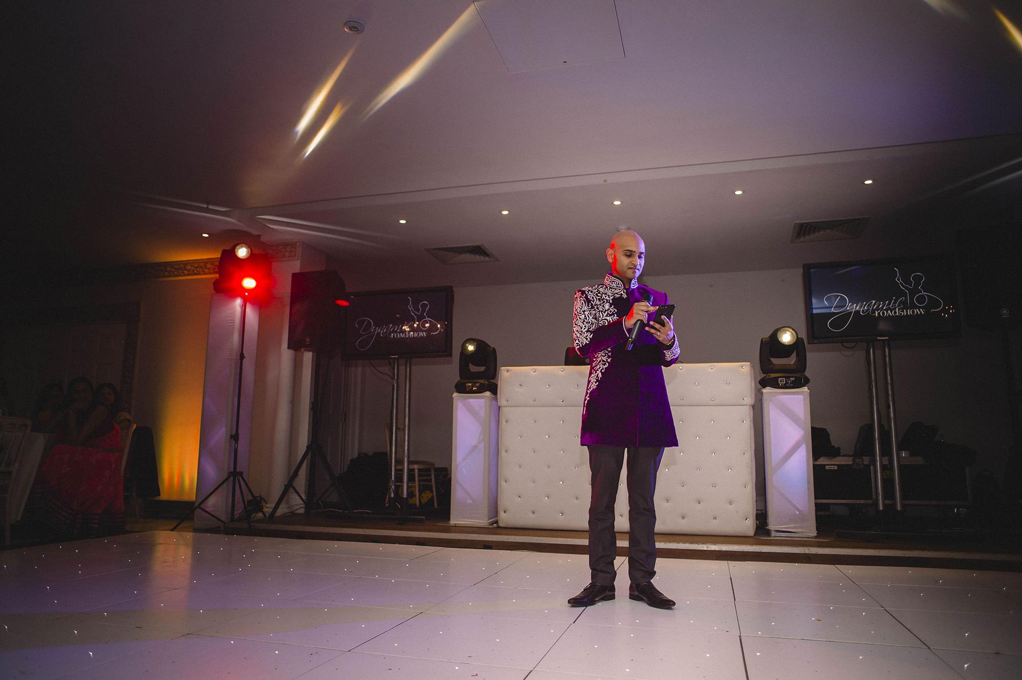 grooms speech at his wedding reception