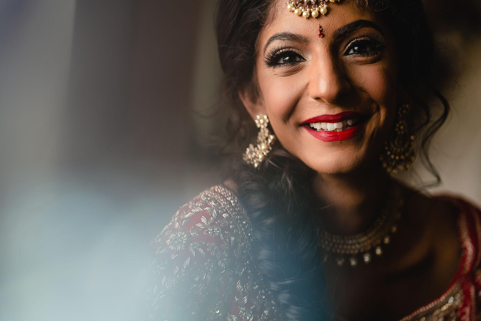 bridal portrait at KP Centre