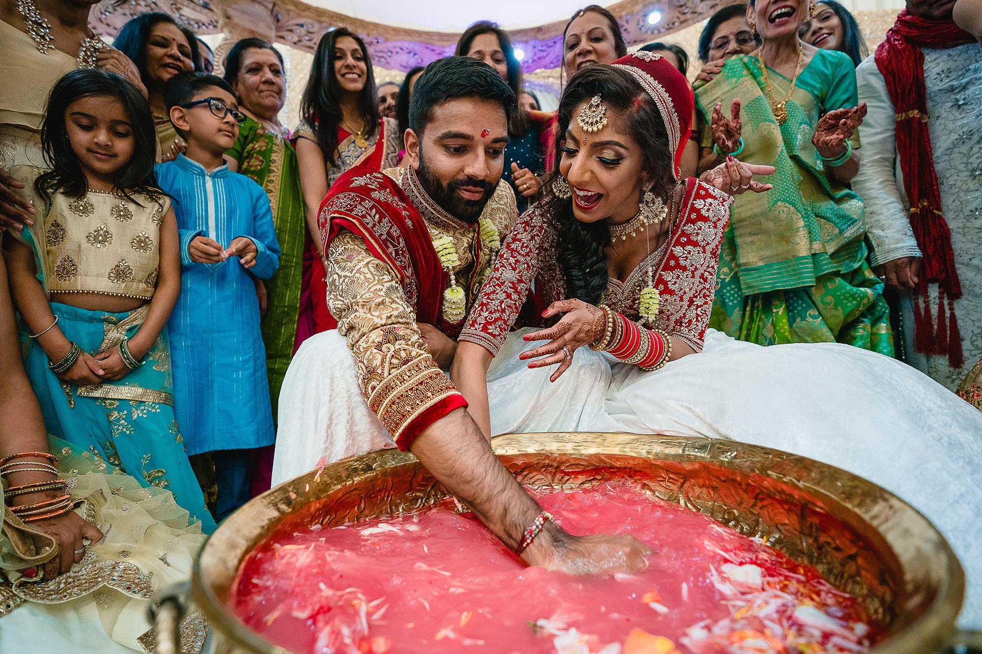 hindu wedding games