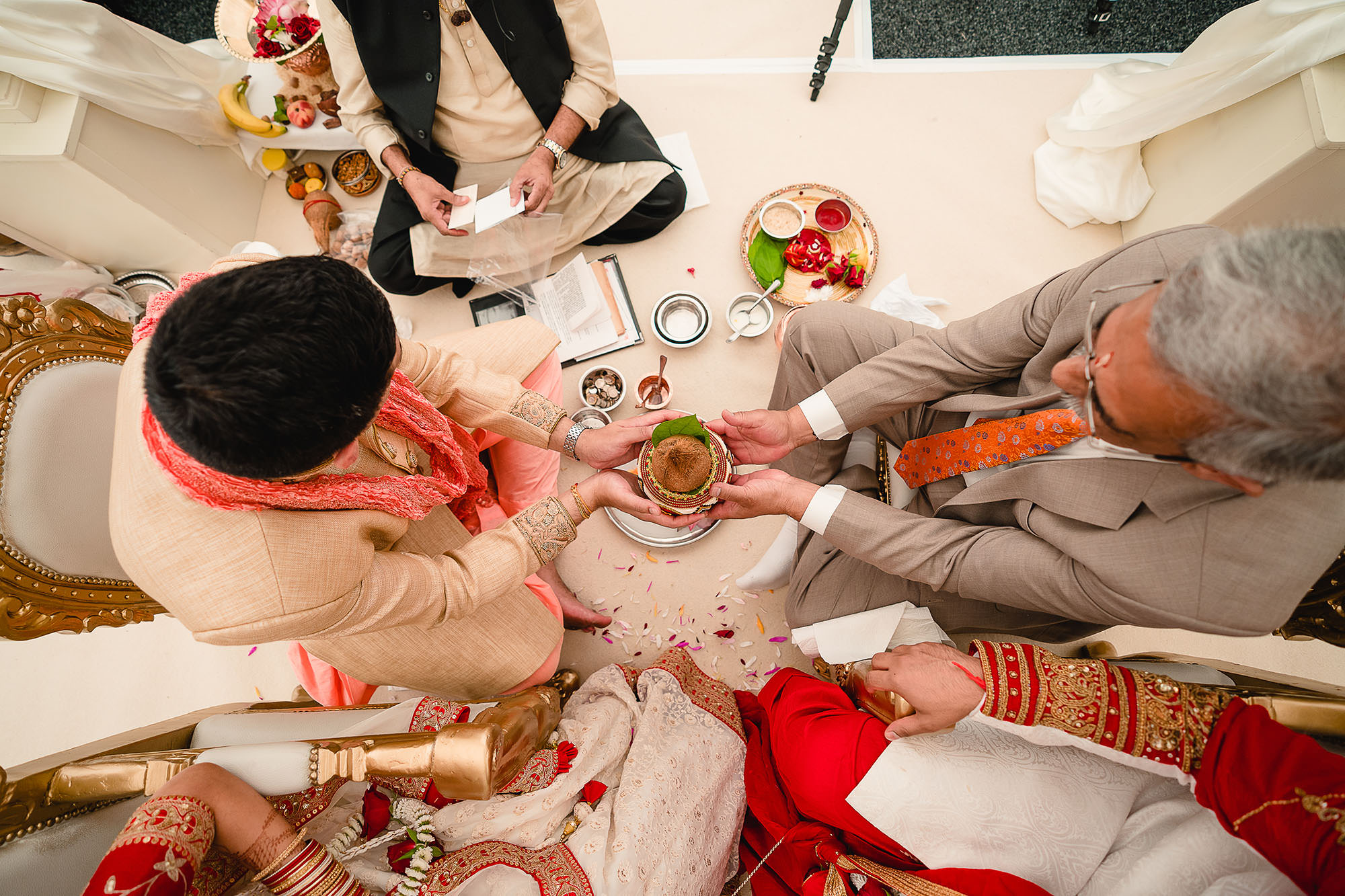 hindu wedding ceremony rituals