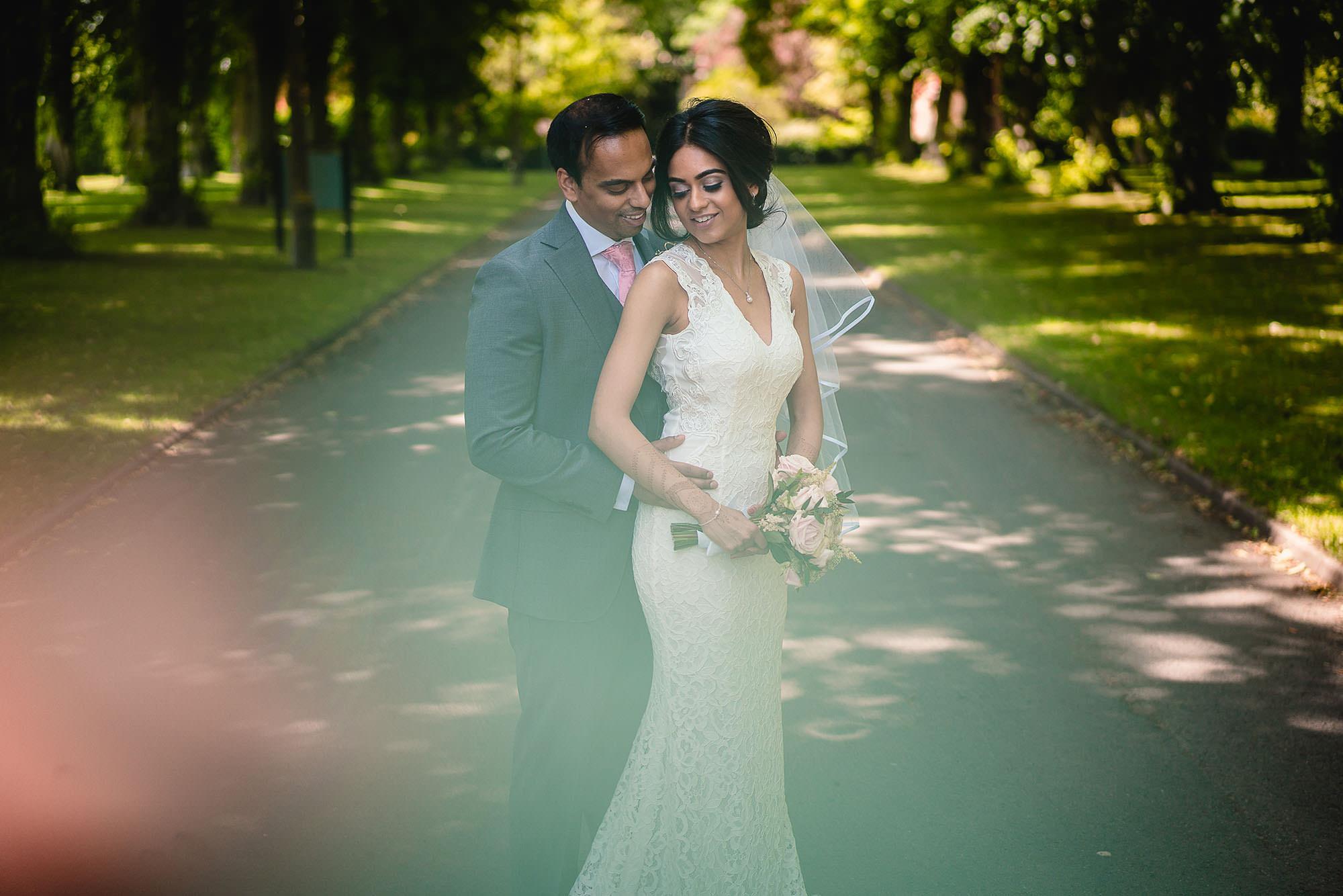 civil wedding portraits