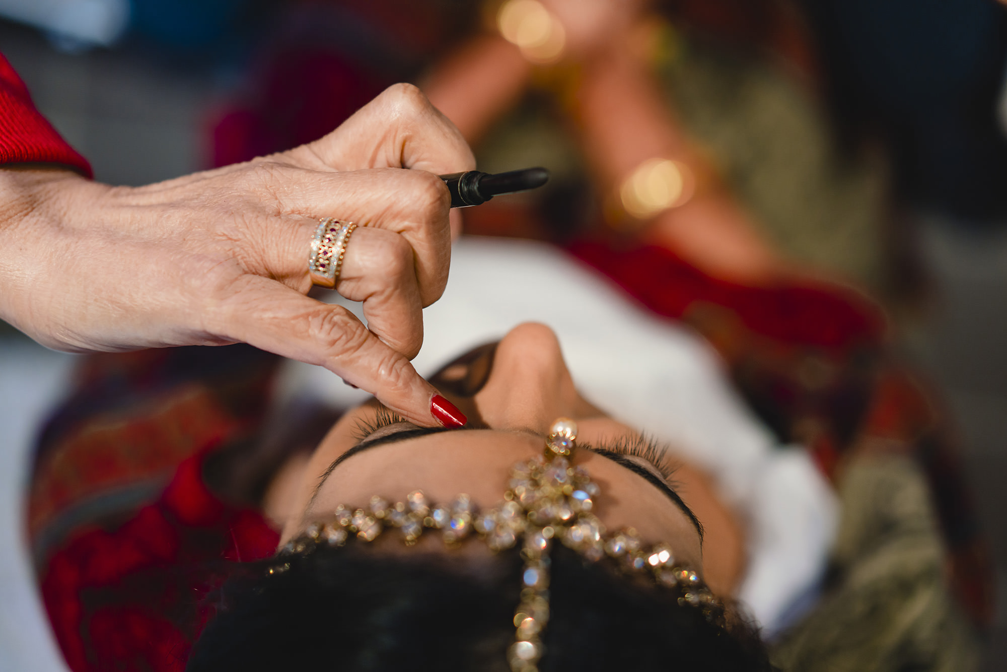 asian bridal makeup hindu wedding the great barn